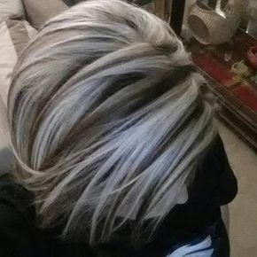 Thinking Maybe I Should Start Adding Platinum Highlights And Let The Silver Hair Grow Out Then Wouldn T Have To Color Roots Every 2 Weeks