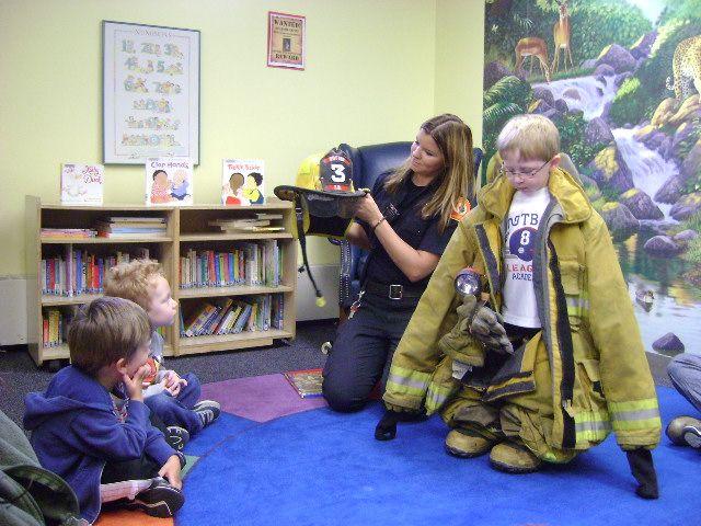 Sutton Public Library  Fireman Mal!