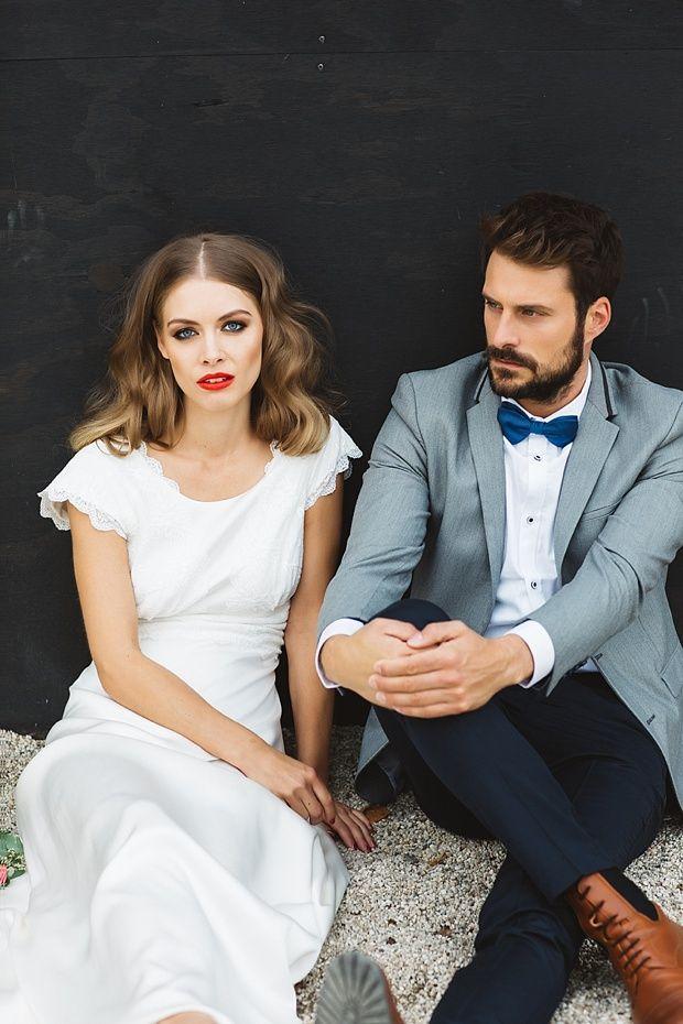 Urbane Bohemian Wedding Inspiration Von Soeur Coeur Wedding Suits