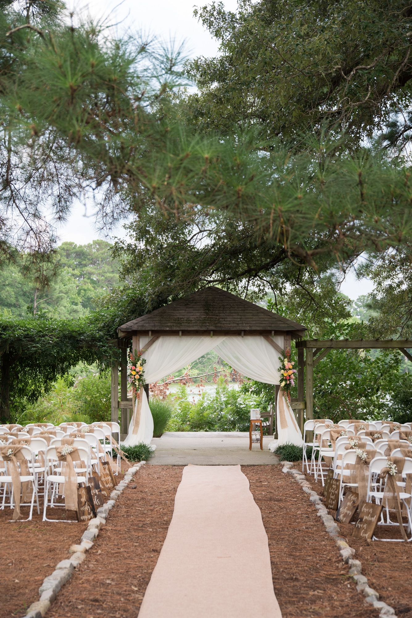 A Colorful Virginia Beach Butterfly Garden Wedding