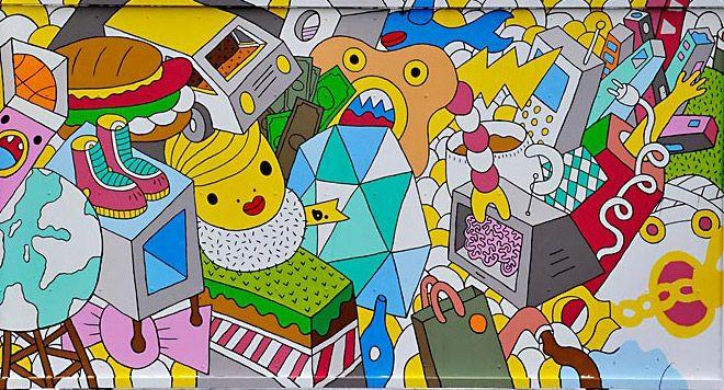 B. The Wynwood Walls - b., Urban Art, Street and Graffiti Art, Miami ...