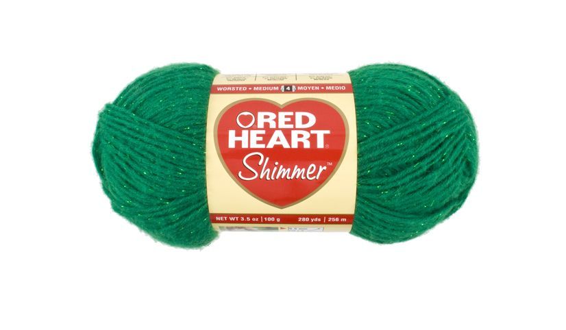 Shamrock Shimmer yarn... will this pass for Girl Scout green or not??