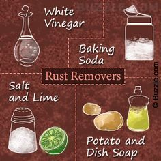 How To Clean Rust Off Metal >> 8 Ways Household Ingredients Can Be Used To Clean Rust Off Metal