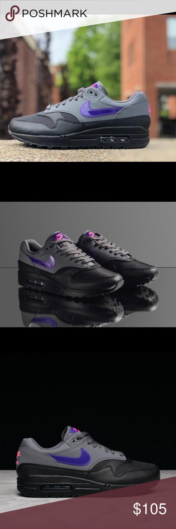 Nike Air Max 1 Dark GreyFierce Purple