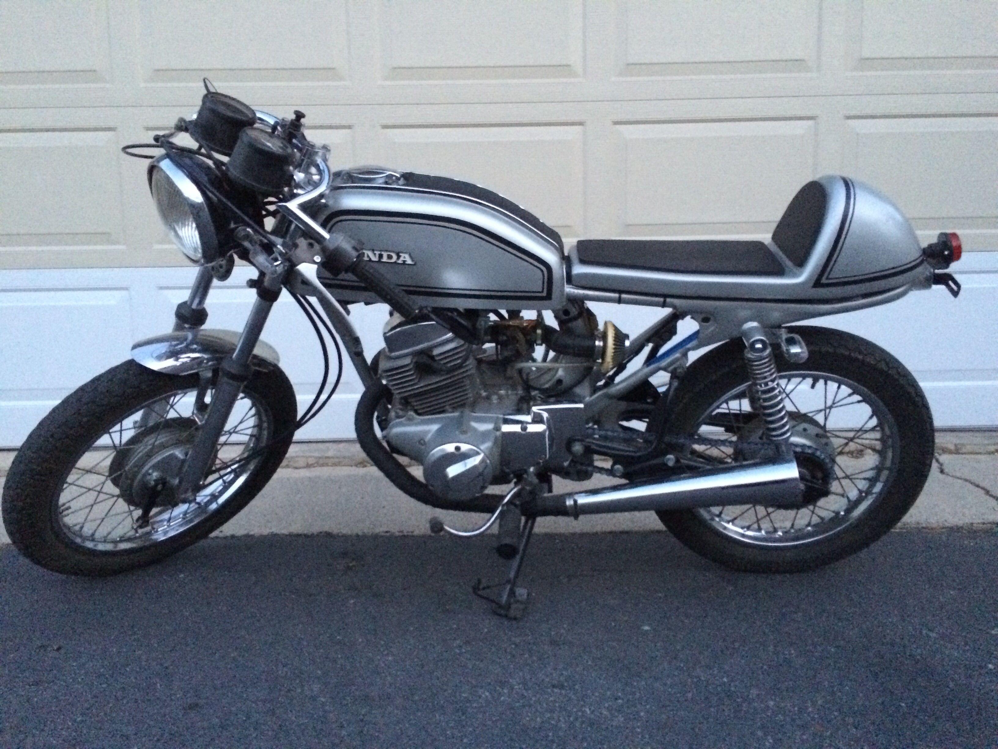 honda tiger cafe racerthekatros #motorcycles #caferacer #motos