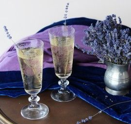 Lavender Fields Cocktail Recipe   Camille Styles