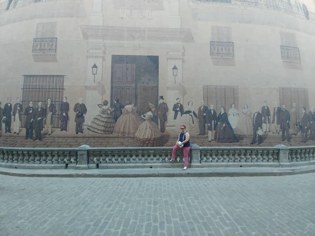 Mural de las Personalidades en La Habana Vieja