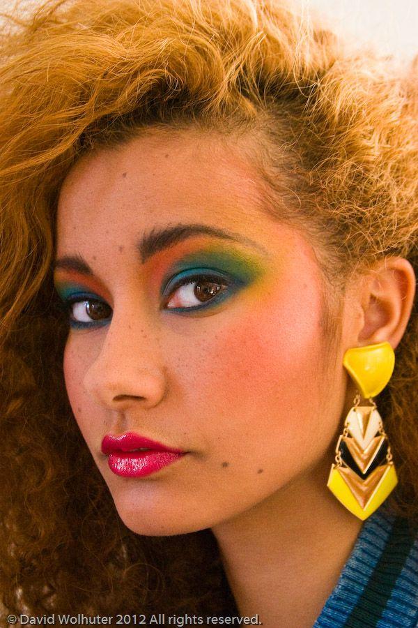 Back to the Eighties 80s makeup, 1980s makeup, Makeup trends