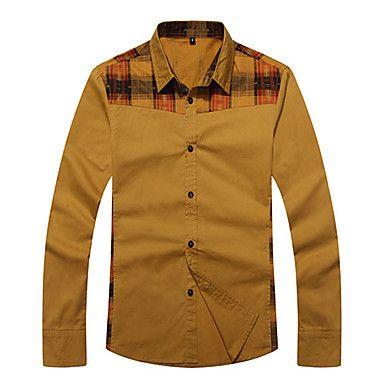 Casual Cotton Slim Shirt