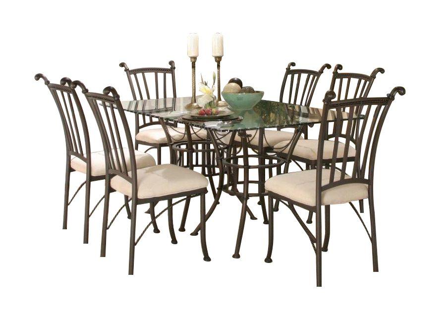 Denali 7 Pcrectangular Dinette Set  Badcock Home Furniture Enchanting Badcock Furniture Dining Room Sets Review