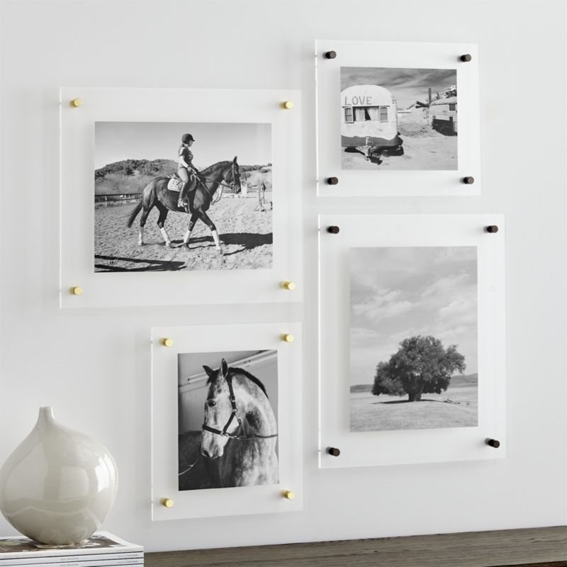 Br 19 X16 Floating Acrylic Wall Frame In 2019 Products