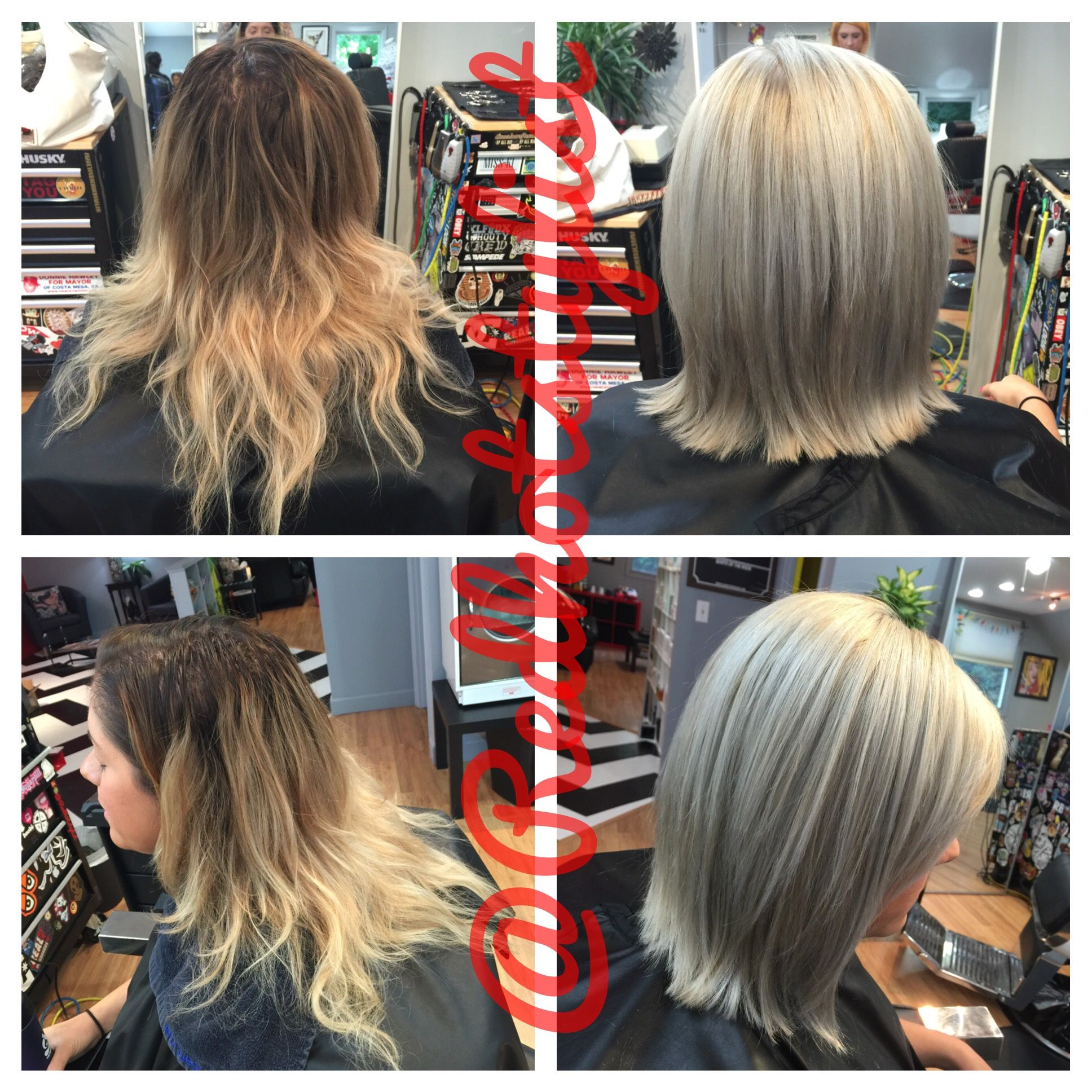 How To Helping Your Client Grow Out Her Natural White Gray Hair Modern Salon