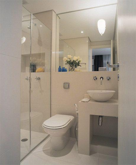 Reforma de banheiro muito pequeno 1 cuarto de ba o - Reformas de banos pequenos ...