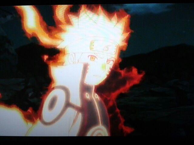 Bijuu Mode Naruto