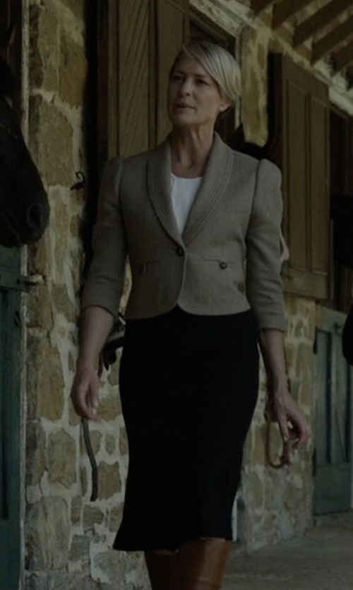 identify products seen with claire underwood robin wright rh pinterest com