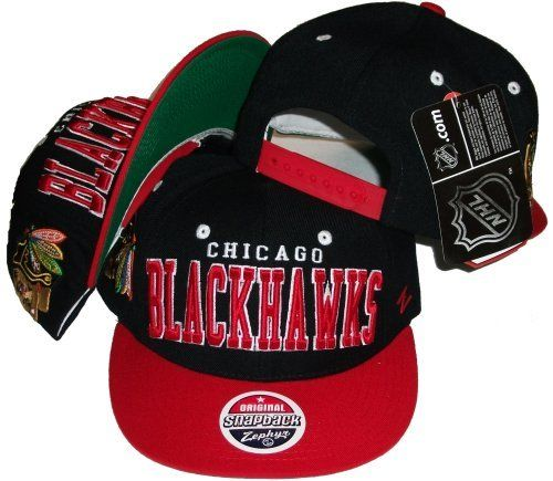 Chicago Blackhawks Two Tone Snapback Adjustable Plastic Snap Back Cap   Hat  by NHL.  29.99. Make a fashion statement while wearing this snapback cap. 888f23ca483d