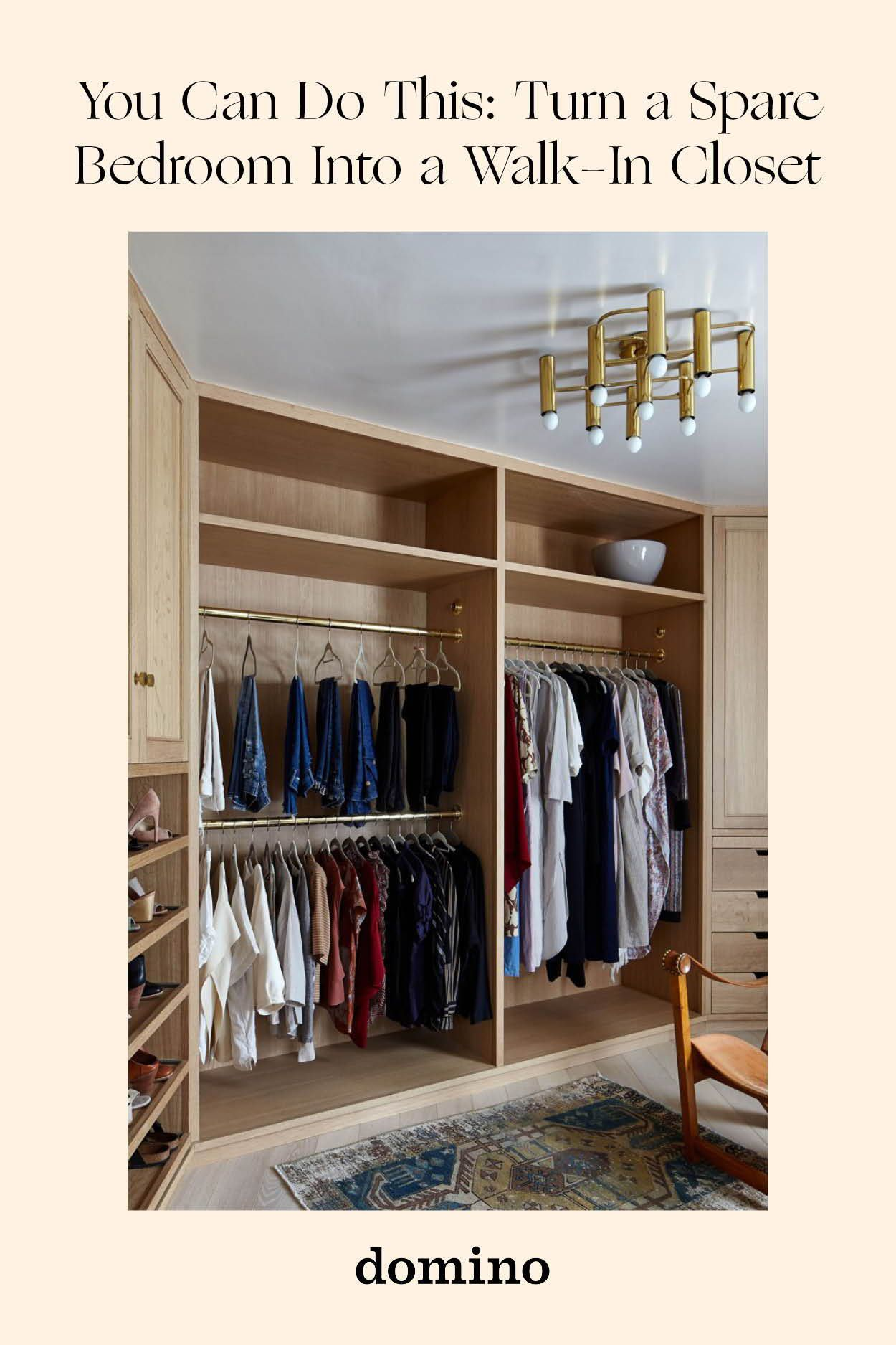 Everything You Need To Know To Turn A Spare Room Into A Walk In Closet Walk In Closet Walk In Closet Small Diy Walk In Closet