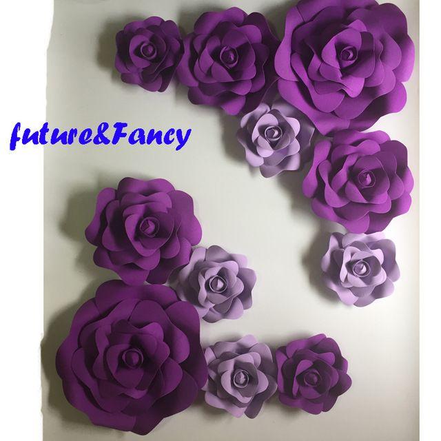 Resultado De Imagen De Decoracion Con Flores De Cartulina Color