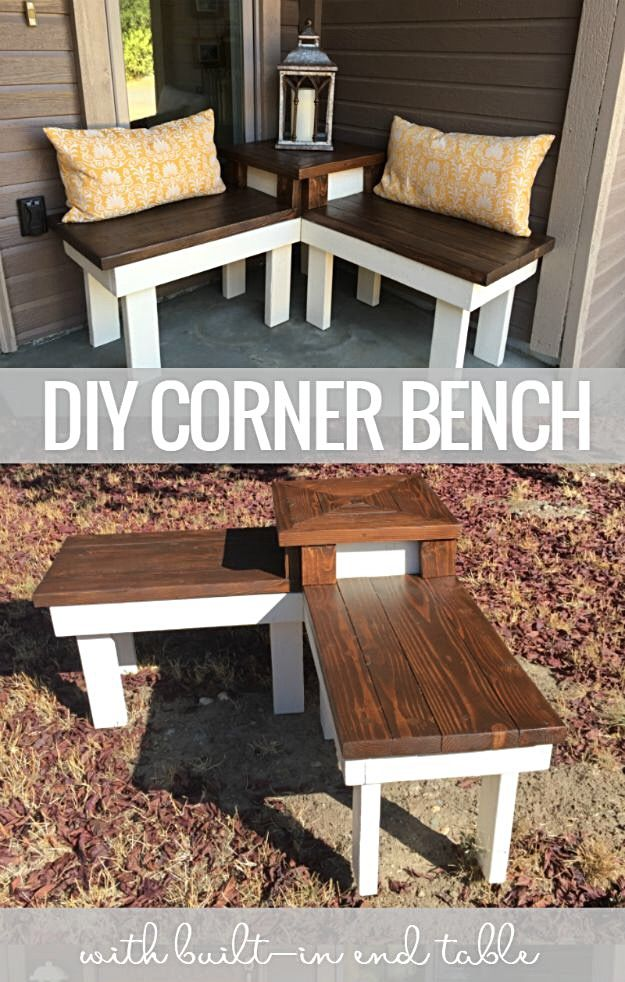 Miraculous Diy Corner Bench Great For A Small Porch In 2019 Easy Gmtry Best Dining Table And Chair Ideas Images Gmtryco