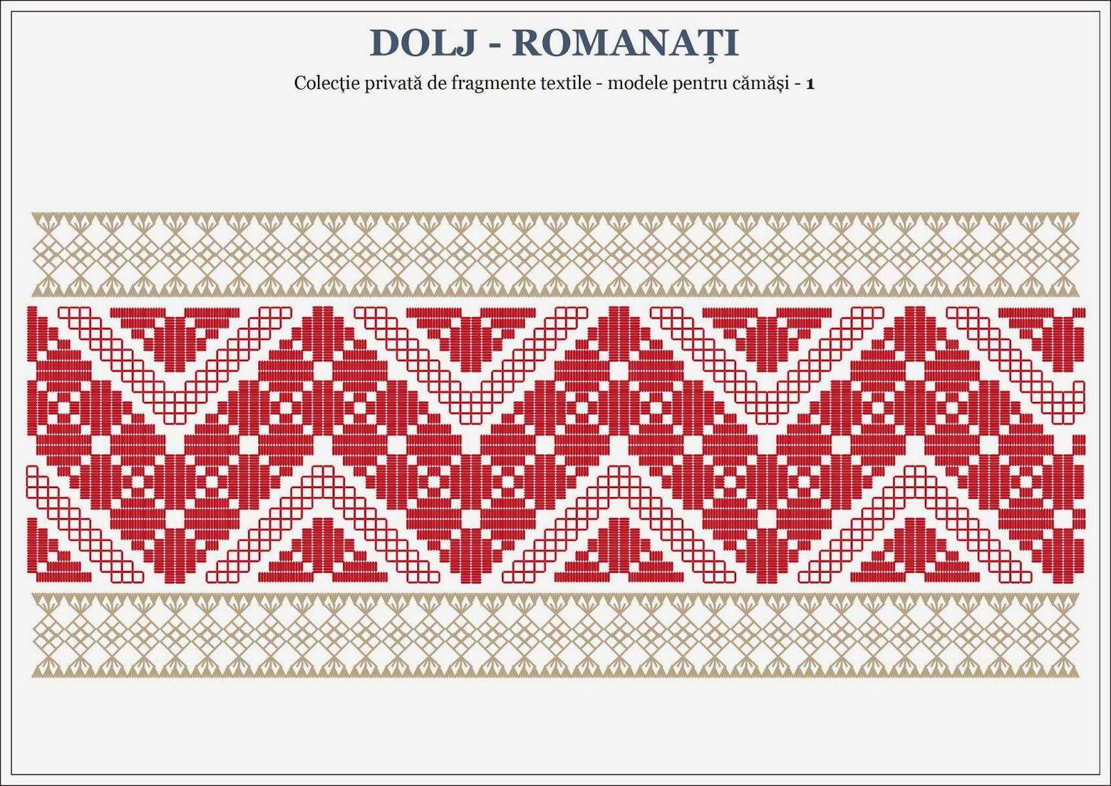 Semne Cusute Romanian Traditional Motifs For Shirts