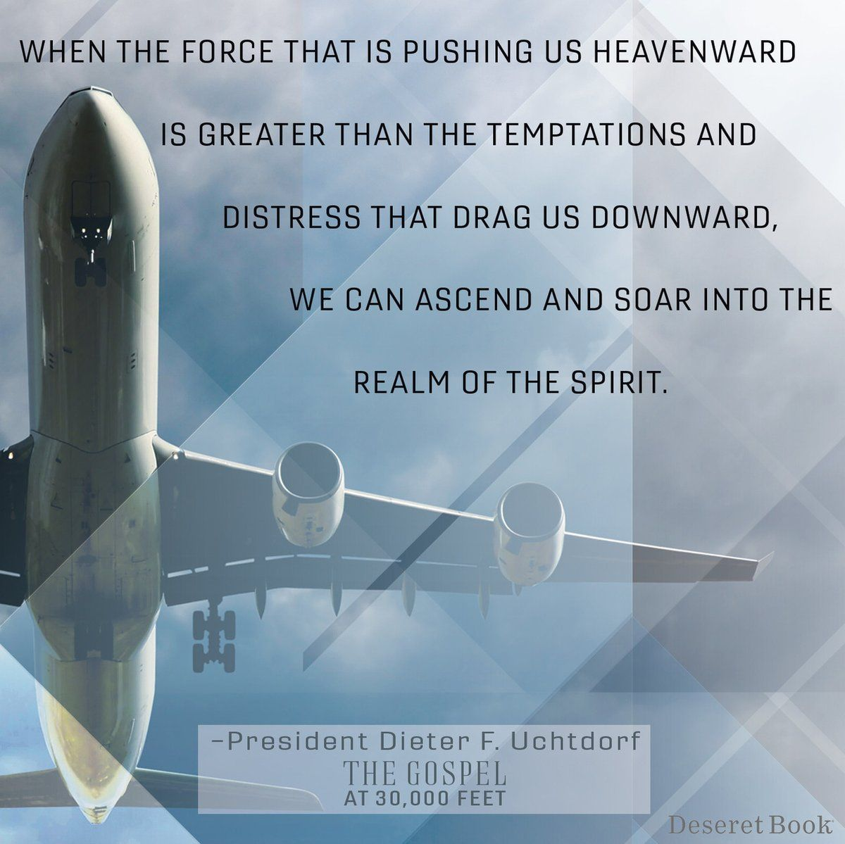 The Gospel At 30 000 Feet Airplane Quotes Powerful Quotes