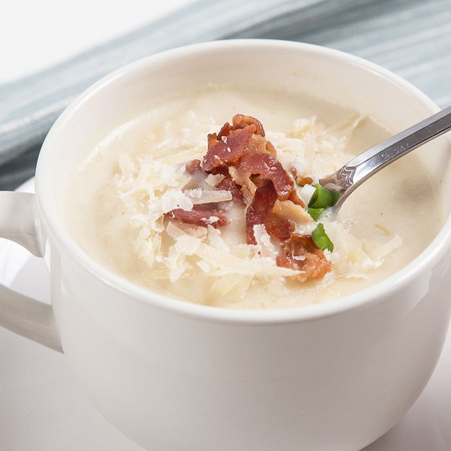 Easy Instant Pot Recipes: Instant Pot Cauliflower Potato Soup                                                                                                                                                                                 More