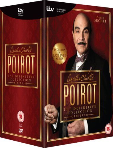 Agatha Christie S Poirot The Definitive Collection Series 1 13 Dvd Amazon Co Uk David Suchet Joely Richard Agatha Christie S Poirot Agatha Christie Poirot
