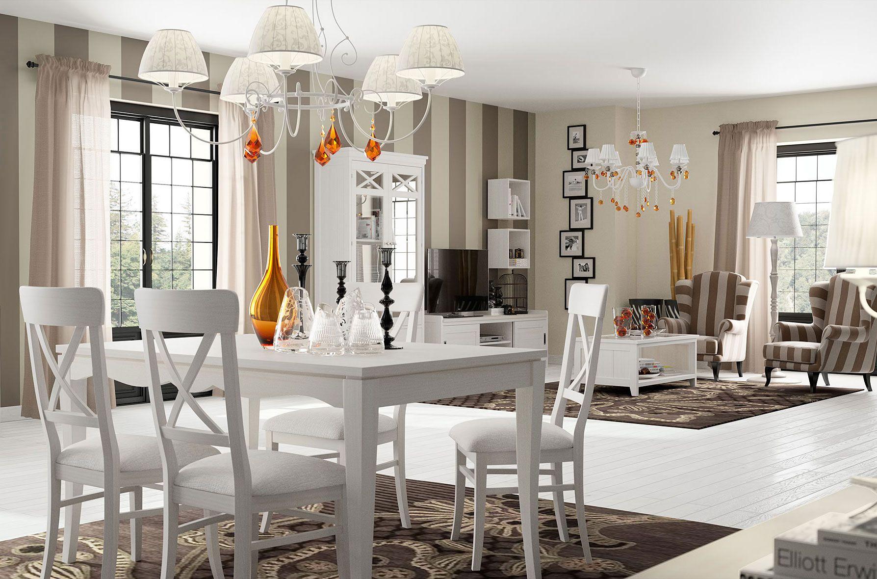 salon vintage moderno mueble marron - Buscar con Google | Deco white ...