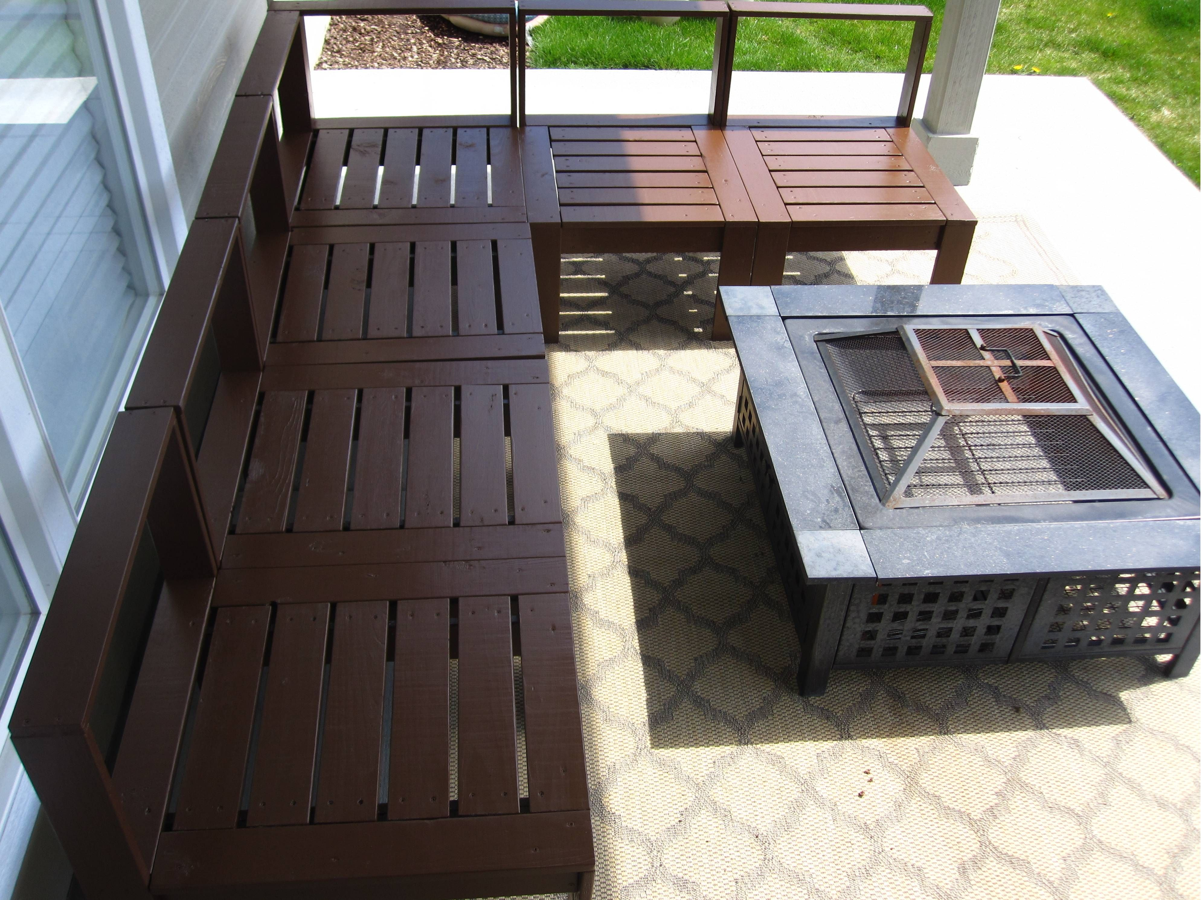 diy outdoor pallet sectional. Outdoor Sectional - DIY Projects Diy Pallet L