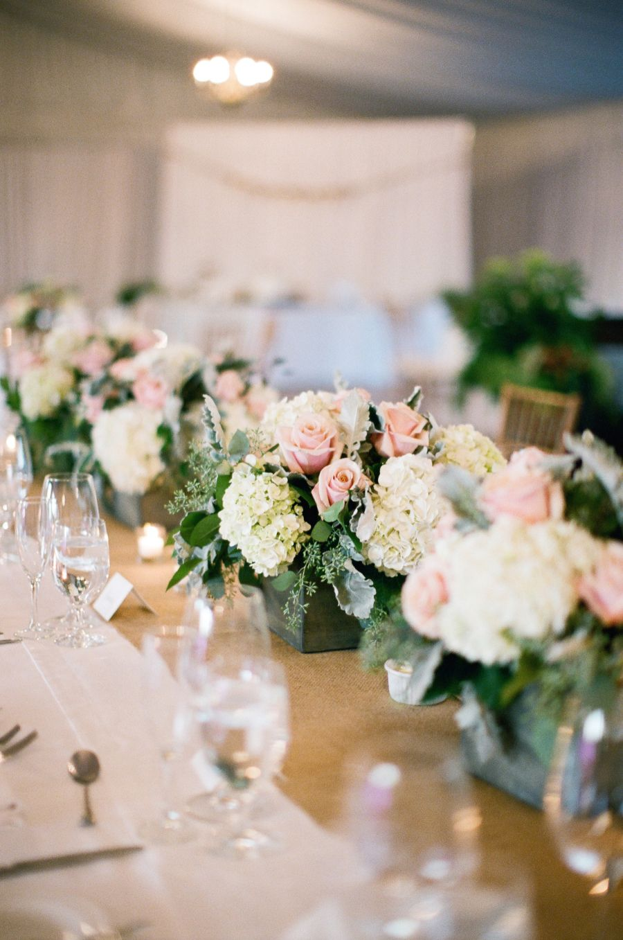 Elegant  Timeless Country Chic Wedding in New Jersey  Golf clubs