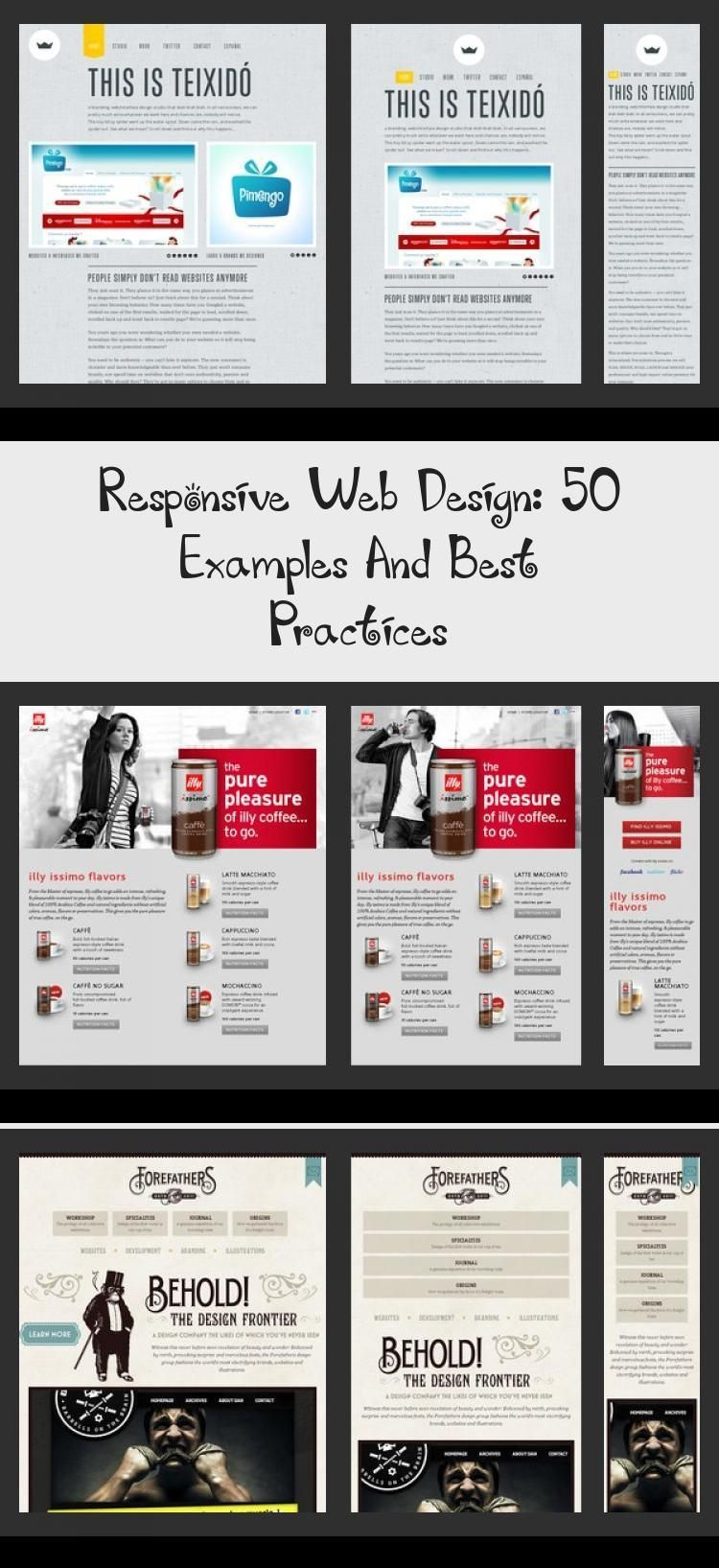 Responsive Web Design 50 Examples And Best Practices Design Responsive Web Design 50 Examples And Best P In 2020 Web Design Web Design Help Web Design Marketing