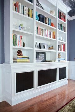 Bookcase Over Radiator Built In Shelves Living Room Eclectic