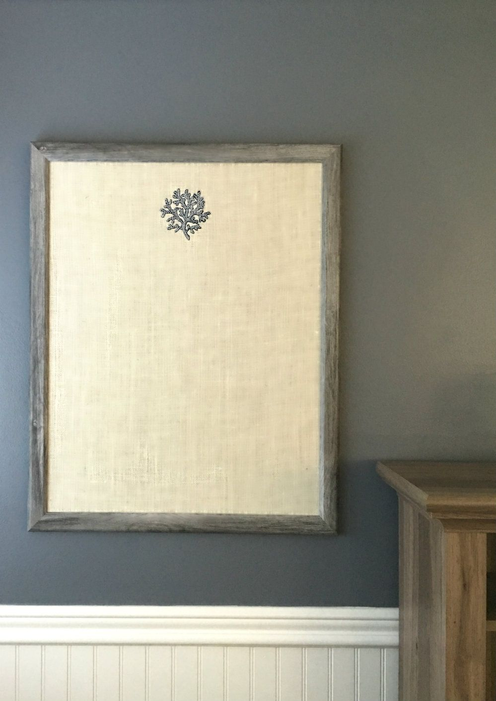 An elegant and high-end BULLETIN BOARD for your home office, kitchen ...