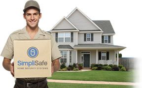 SimpliSafe Wireless securtity systems are delieverd straight to yourdf door