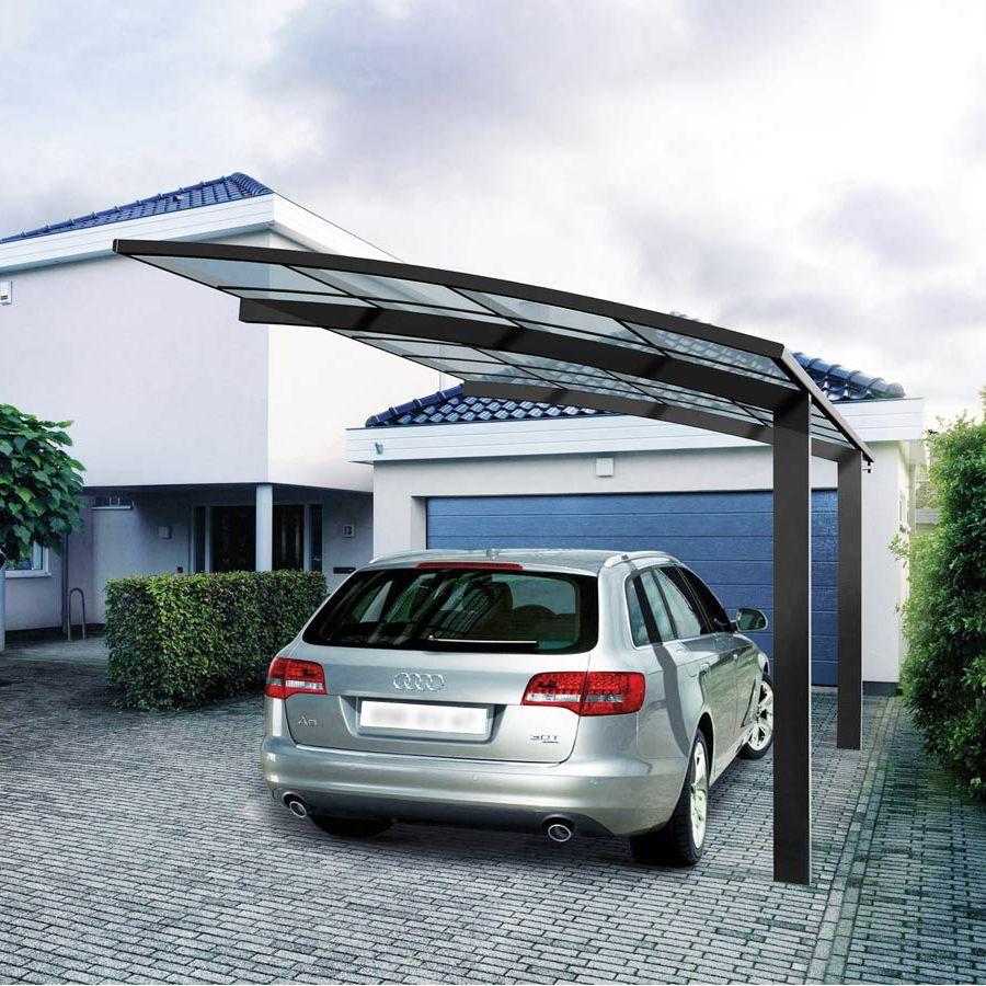 Gazebo Per Auto In Alluminio.Tettoia Per Posto Auto In Alluminio In Policarbonato Grosfillex