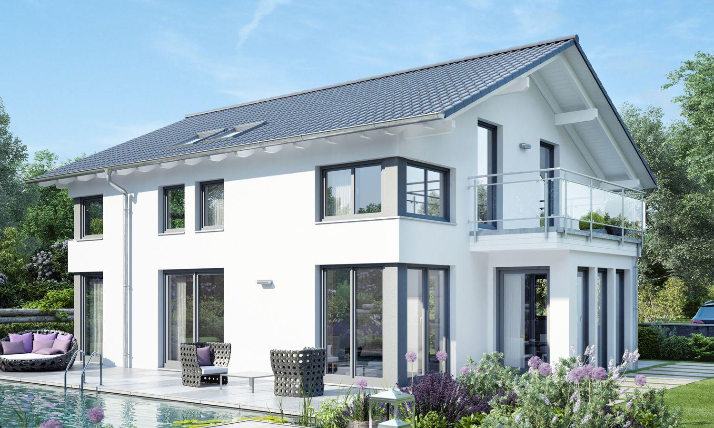 modernes haus satteldach - Google-Suche | Haus in 2019 ...
