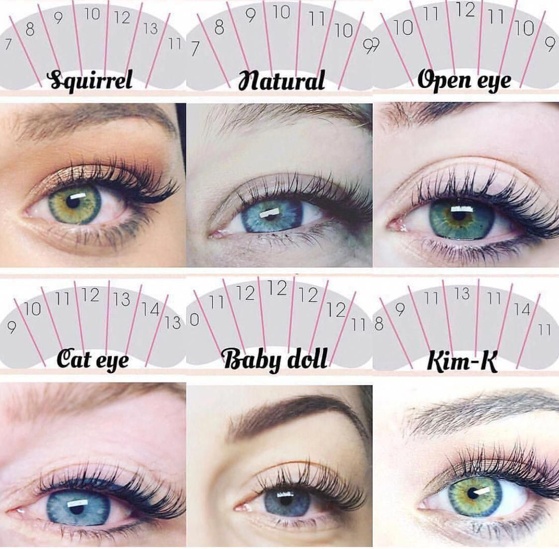 Where To Get Lash Extensions   Individual Eyelashes Near ...