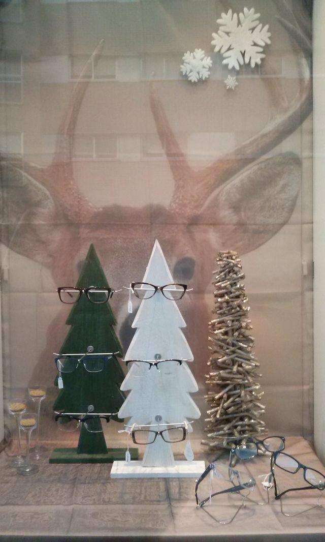 December window display/decor @SCEyecare SCEyecare Pinterest