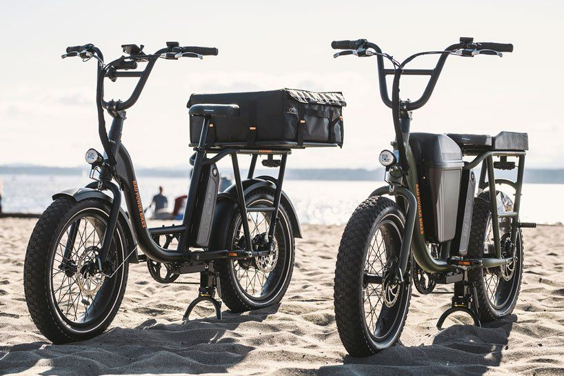 The Rad Power Electric Bike Is Part Moped And Part Cargo Bike Best Electric Bikes Power Bike Electric Cargo Bike