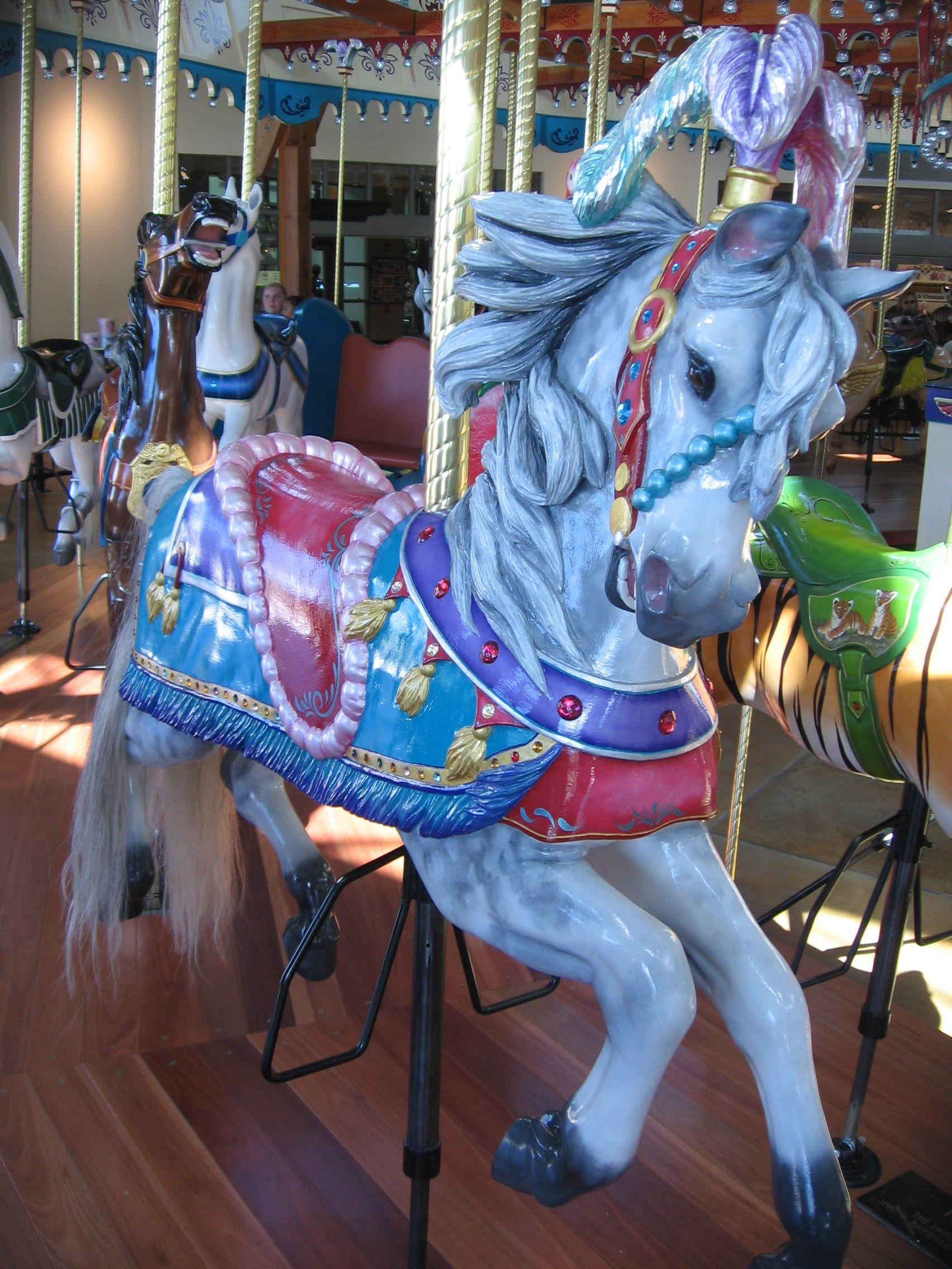 Fancy Carousel Horse