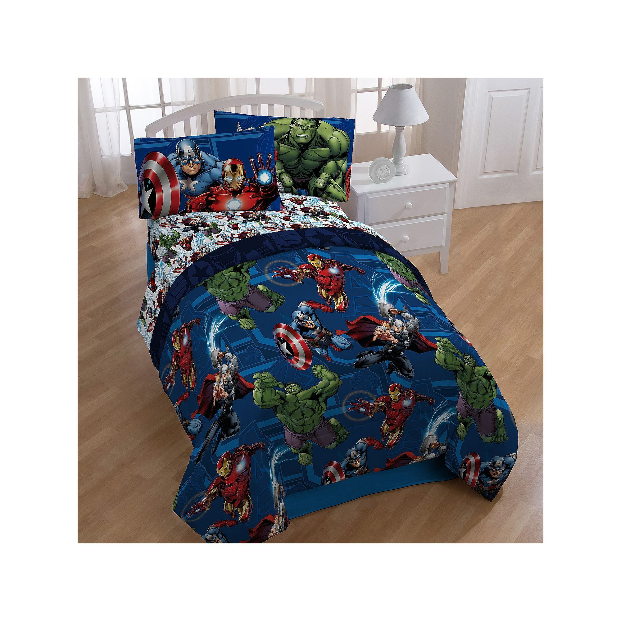 marvel avengers heroic age 4 piece twin bed in a bag set multicolor rh pinterest com mx