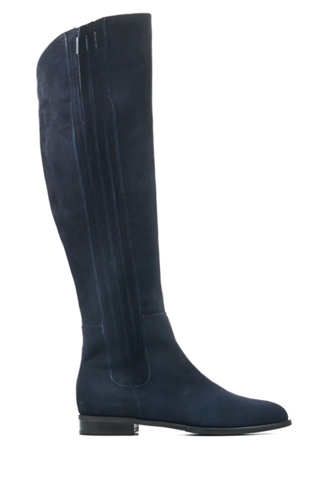 Lilian Dames Laarzen Zwart 10457 | Van den Assem