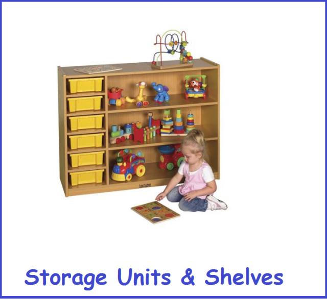 Daycare Storage Shelves Early Childhood Storage Units Preschool S