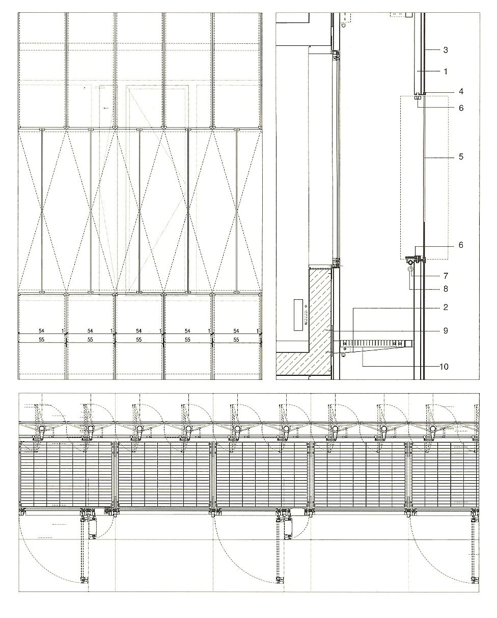 Glass Facade Detail : Vertical glass louvres google search y semester