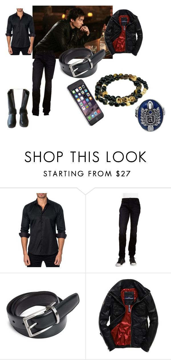"""""""Saturday - Time to Party!"""" by alecrsutton on Polyvore featuring Jared Lang, Hudson Jeans, Nautica, Superdry, men's fashion and menswear"""