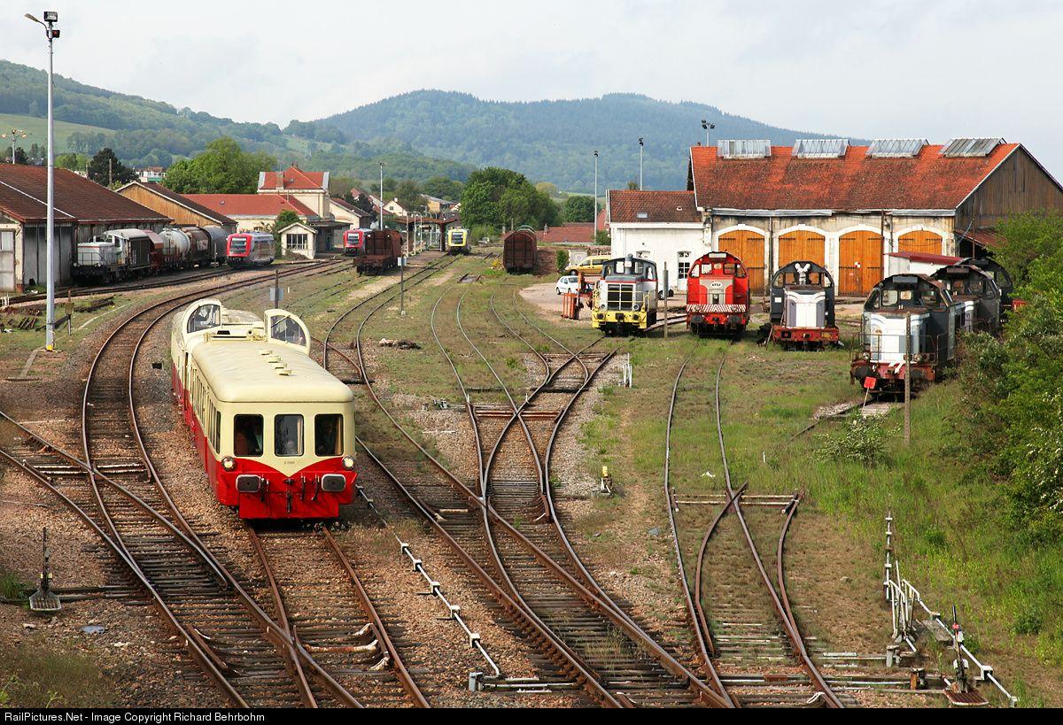RailPictures.Net Photo: X 3886 Autorails de Bourgogne Franche-Comté X 3800 at Autun, France by Richard Behrbohm