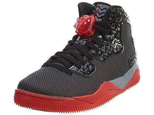 Nike Jordan Men's Air Jordan Spike Forty PE Black/Fire Red/Cement Grey  Basketball