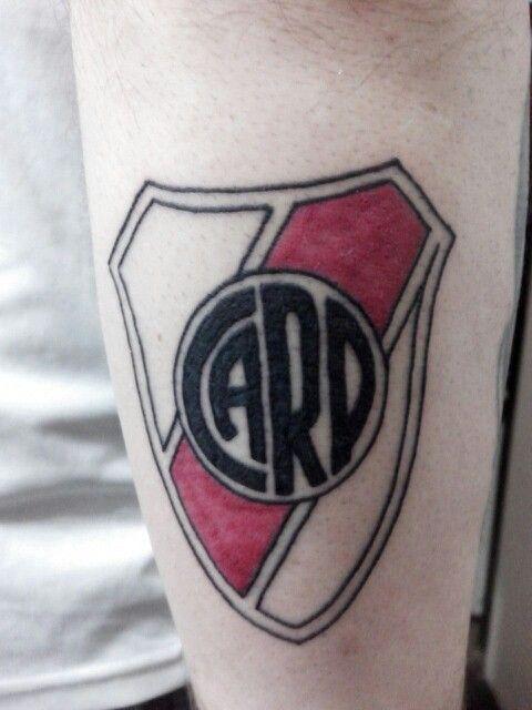 escudo de River Plate 2015 by Chatran  Mis tatuajes  Pinterest
