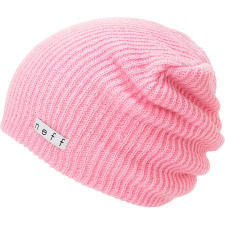 e71b252f7b8 Neff Daily Light Pink Beanie in 2019