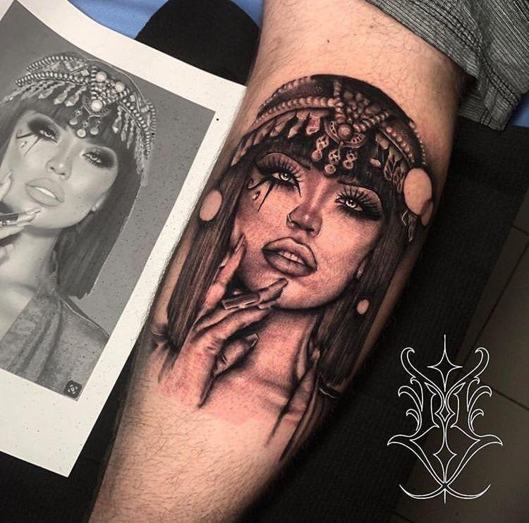 Half Of Sleeve Tattoos Halfsleevetattoos Egyptian Tattoo Sleeve Portrait Tattoo Sleeve Half Sleeve Tattoo